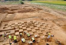 photo of archaeological dig