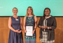 2018 Connecting Science Public Engagement Prize winners