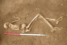 Anglo-Saxon burial site